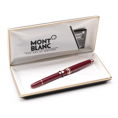 Mont Blanc Fountain Pen