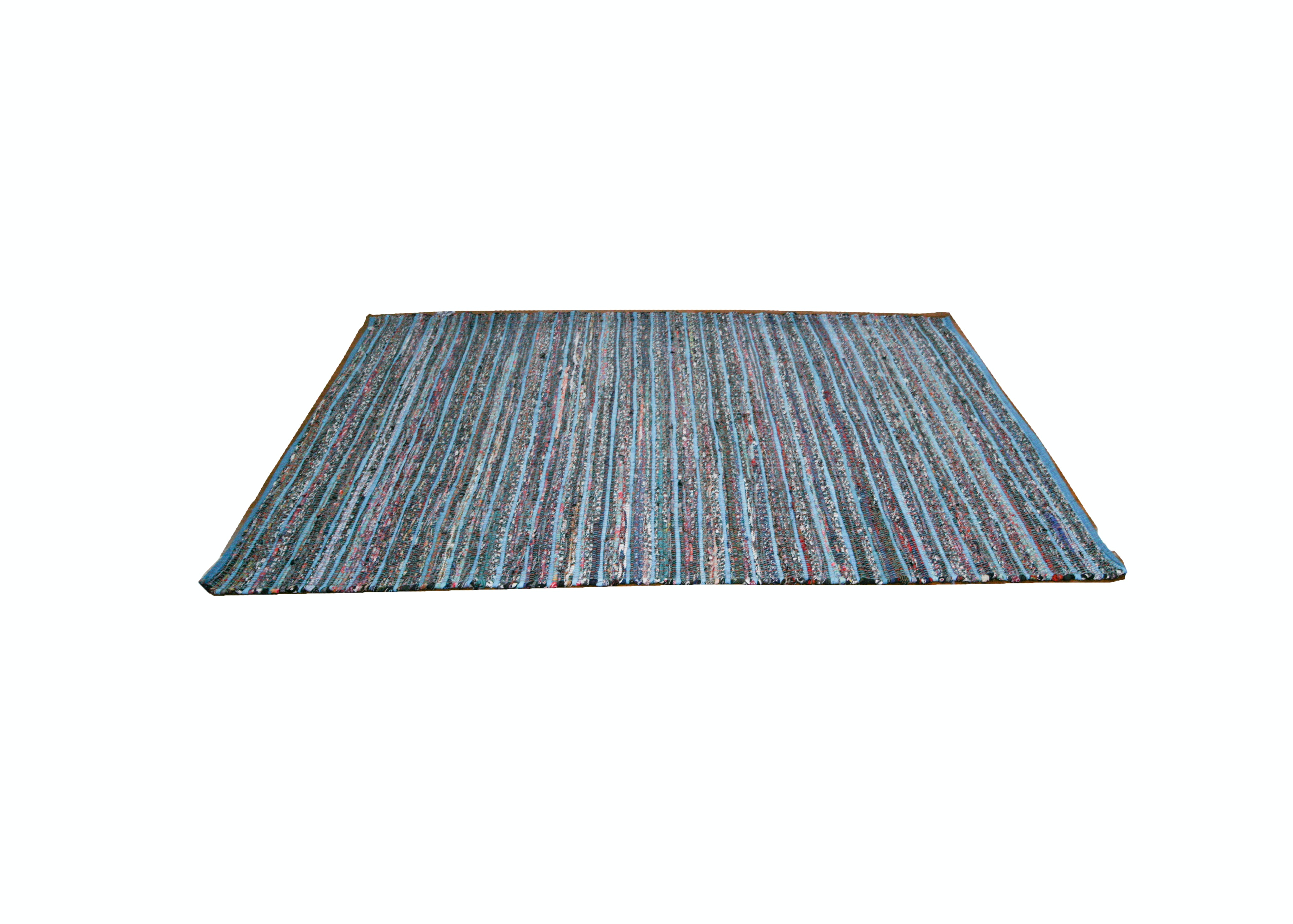 Woven Multicolor Flat Weave Rug