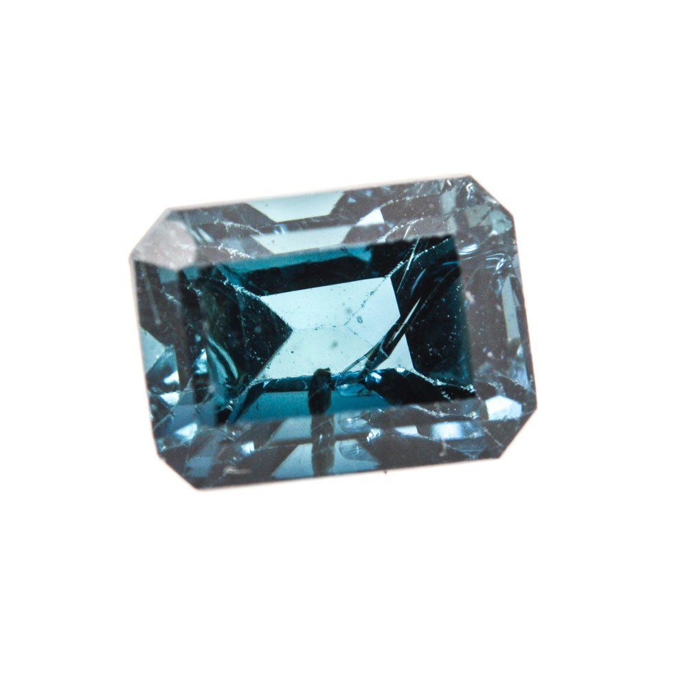 Blue Indicolite Tourmaline Loose Gemstone