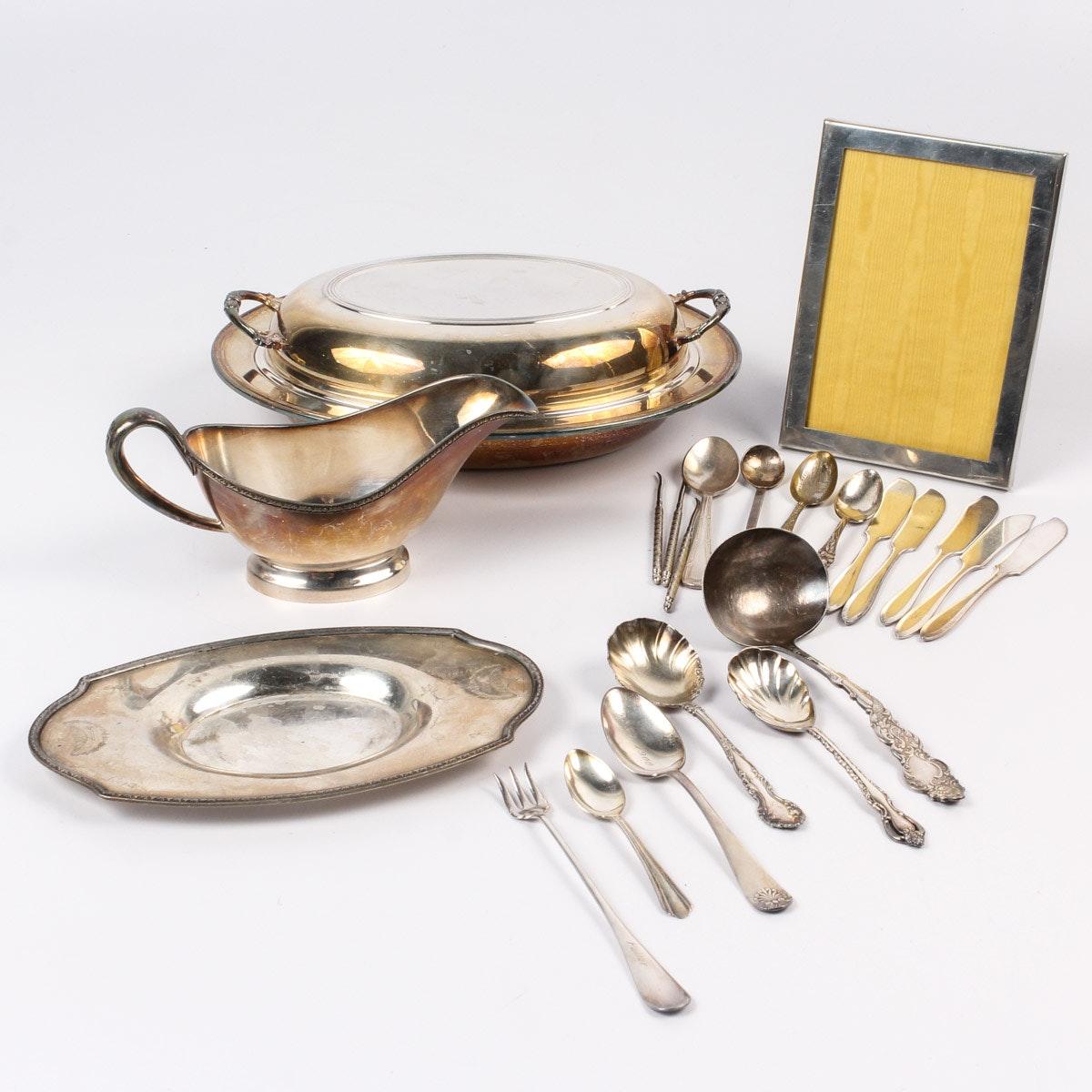 Silver Plate Serveware and Accessories