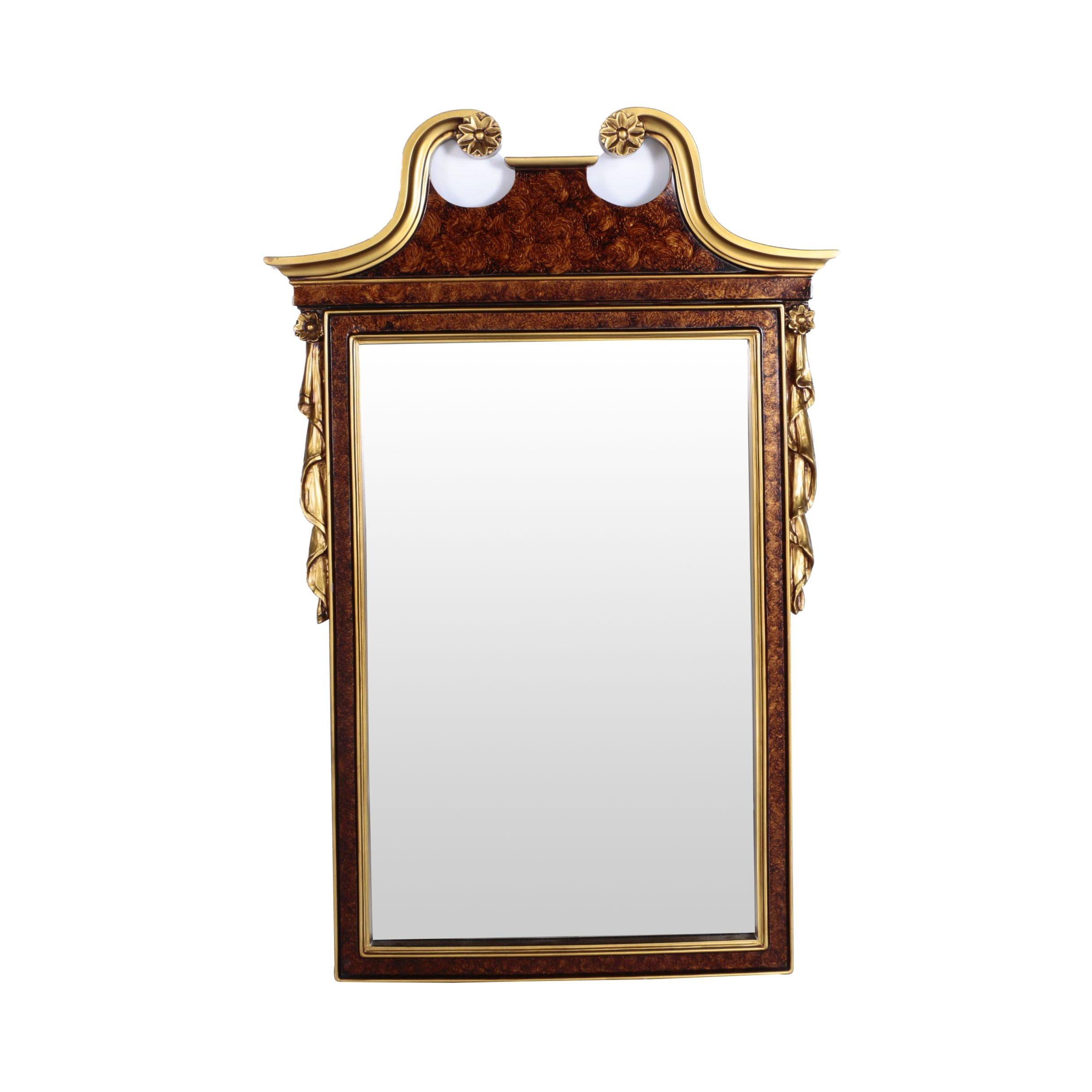 Empire Style Wall Mirror