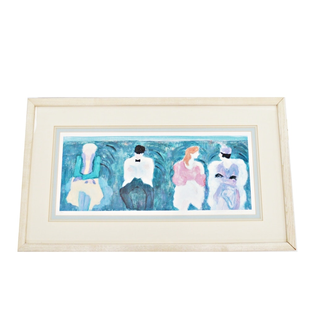 Limited Edition Lithograph by Barbara Wood