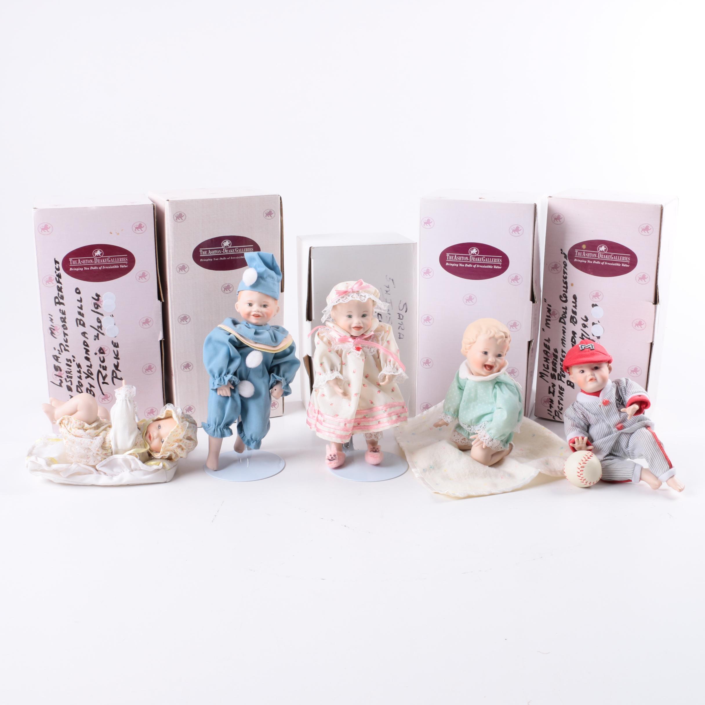 Collection of Ashton Drake Dolls