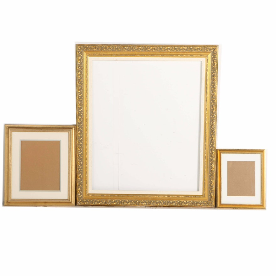 67c15bdb996e Assorted Gold Tone Wall Frames   EBTH