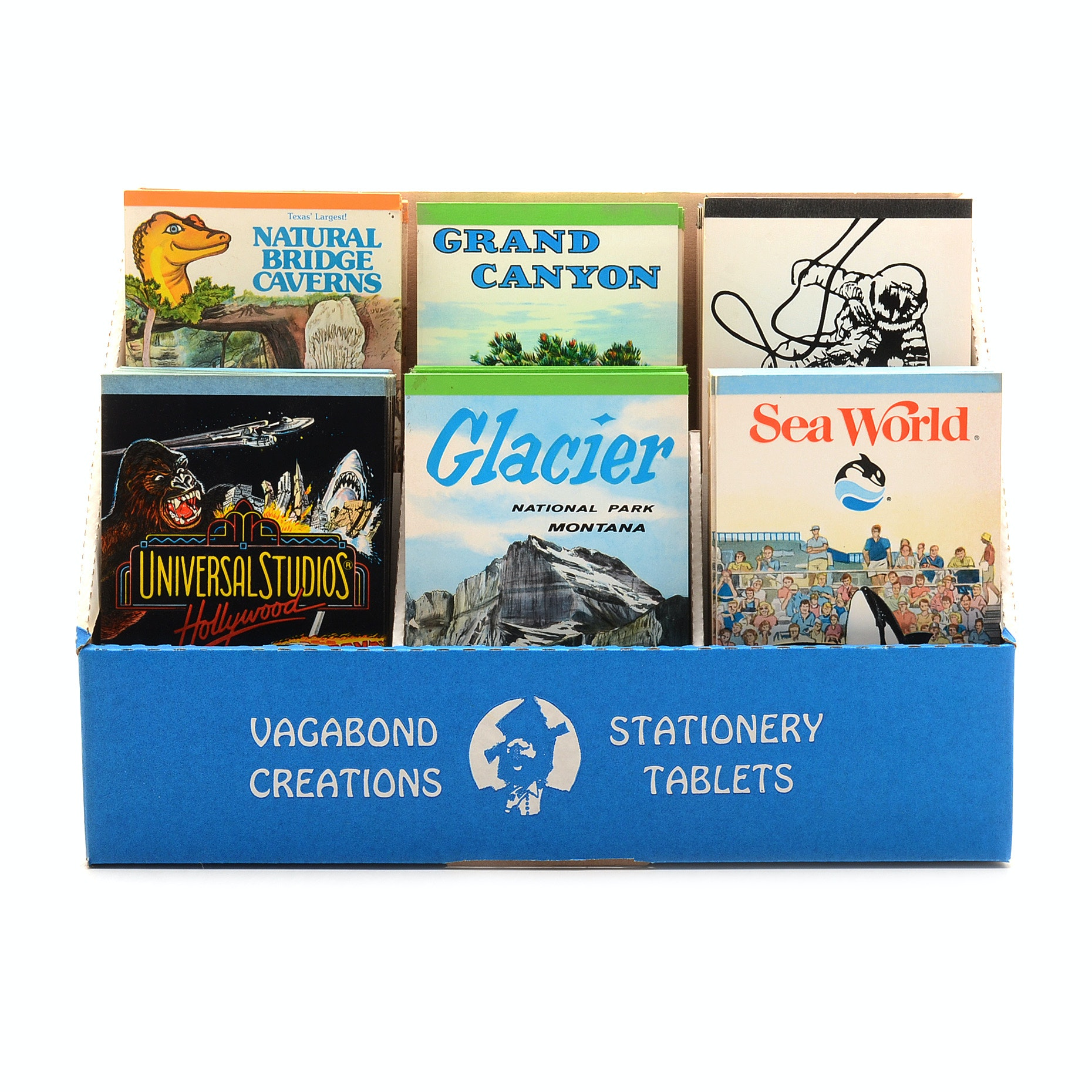 Vacation Tourist Spot Themed Stationary Tablets Lot from Vagabond Creations