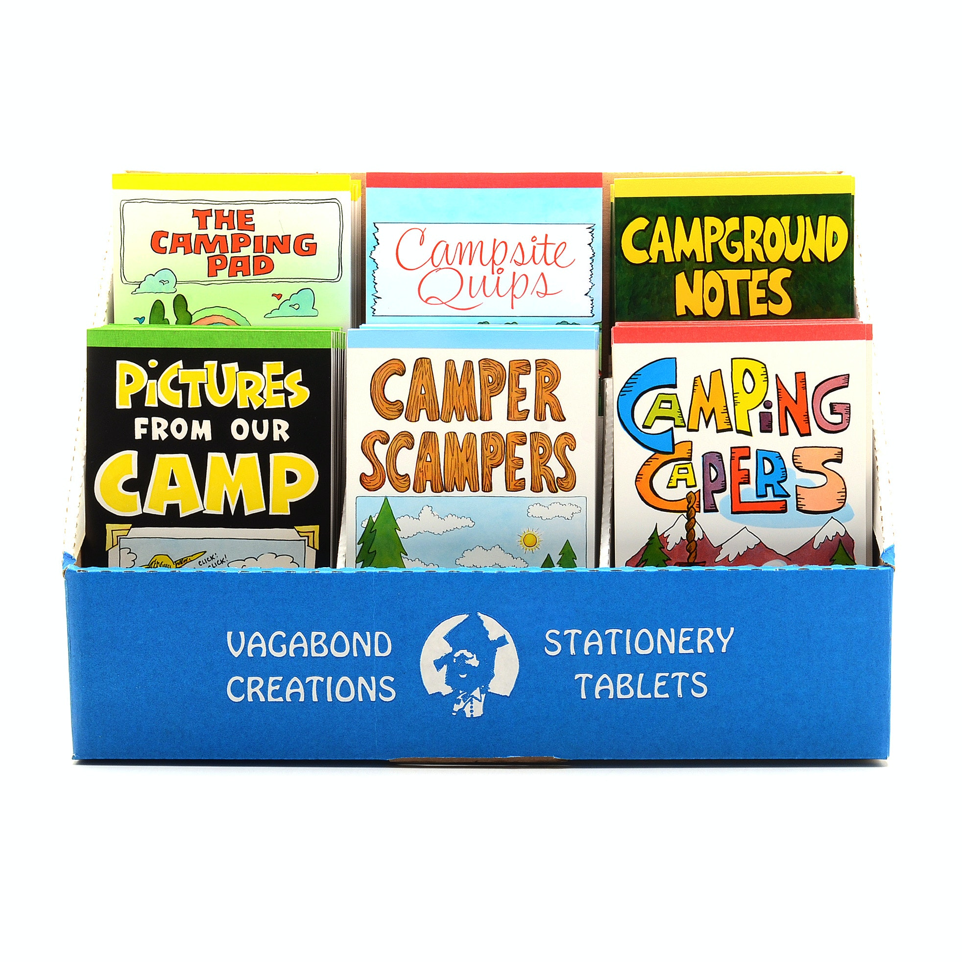 Camping Themed Stationary Tablets Lot from Vagabond Creations