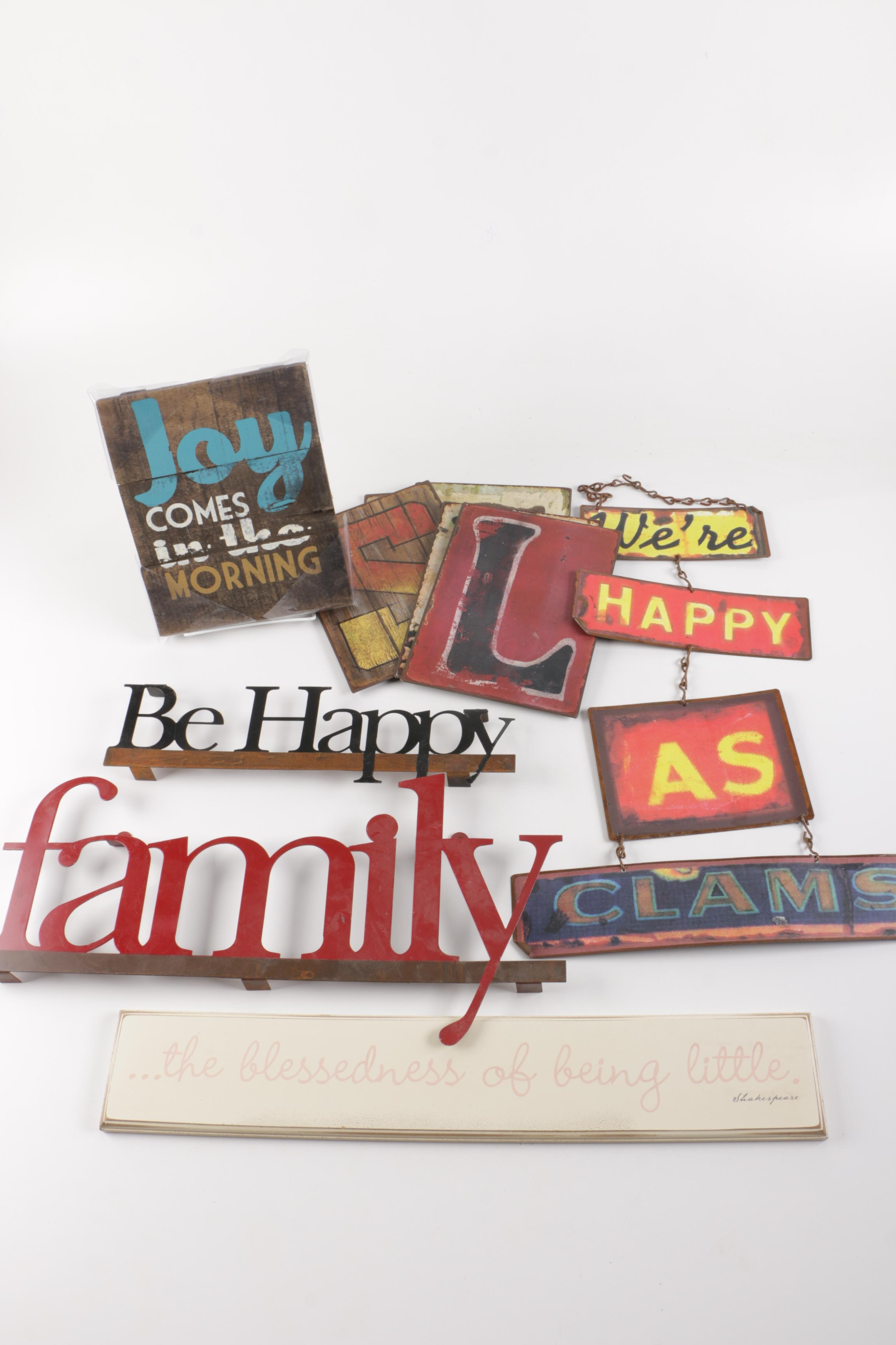 Wall Decor Assortment