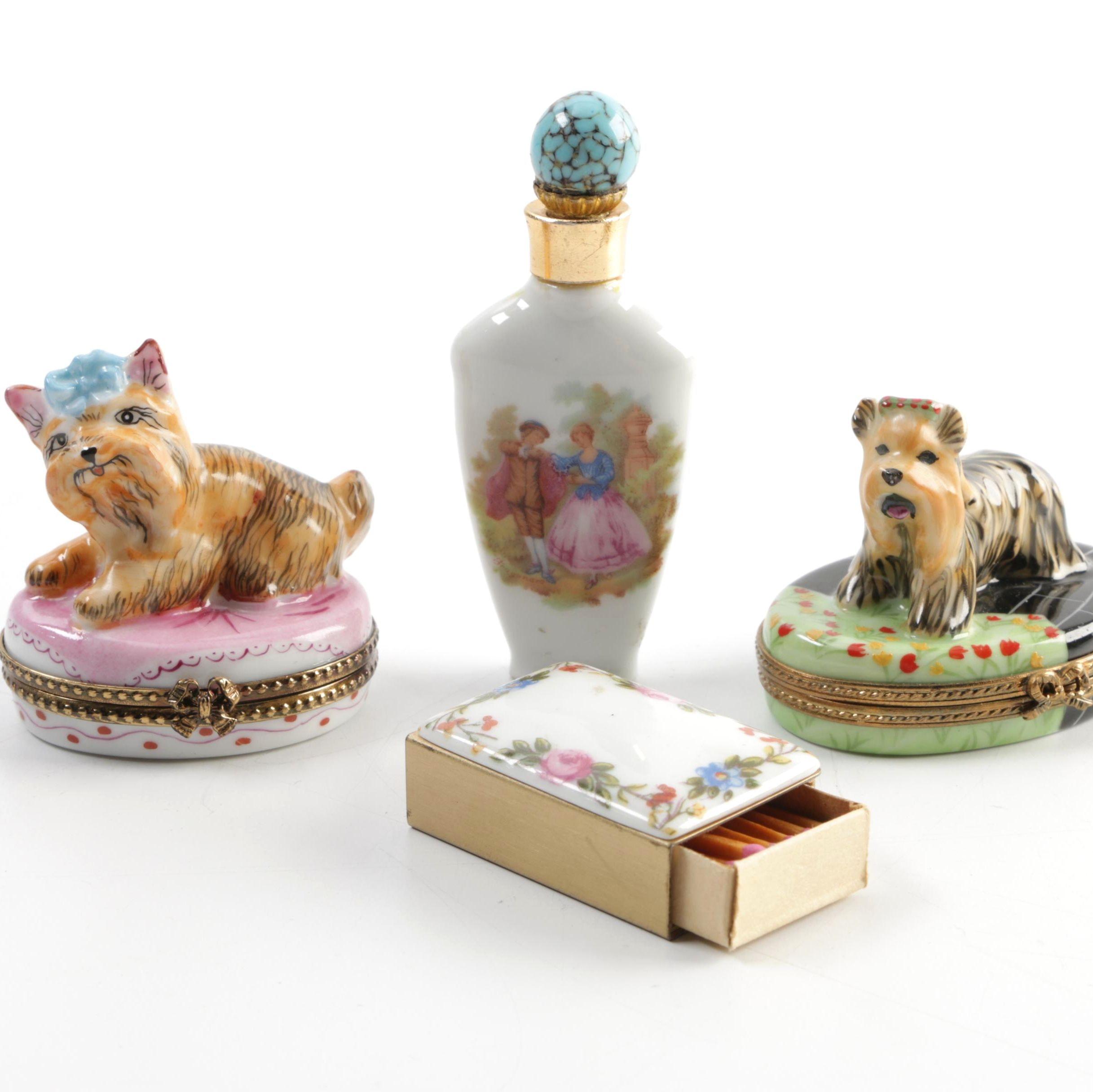 Petite Limoges Porcelain Decor