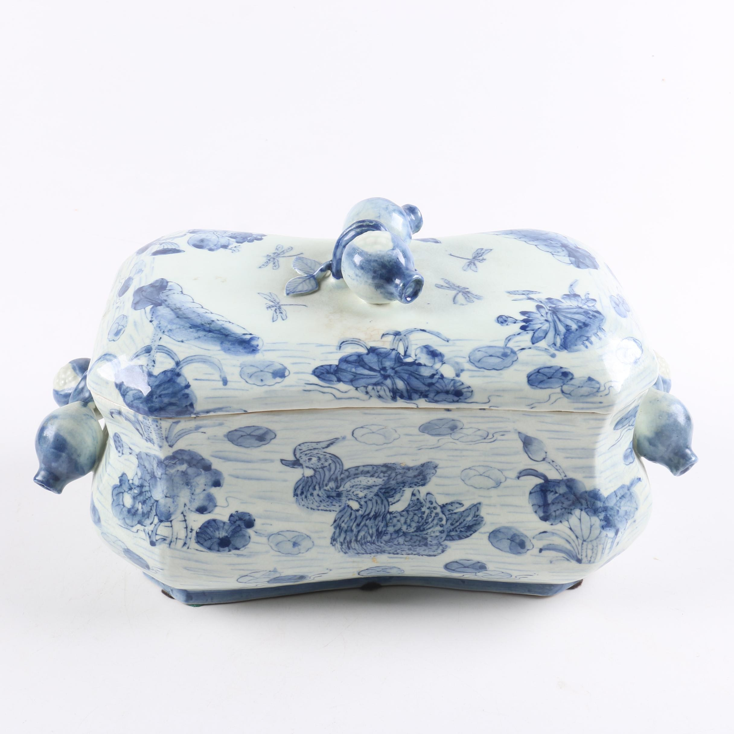Decorative Chinese Style Soup Tureen