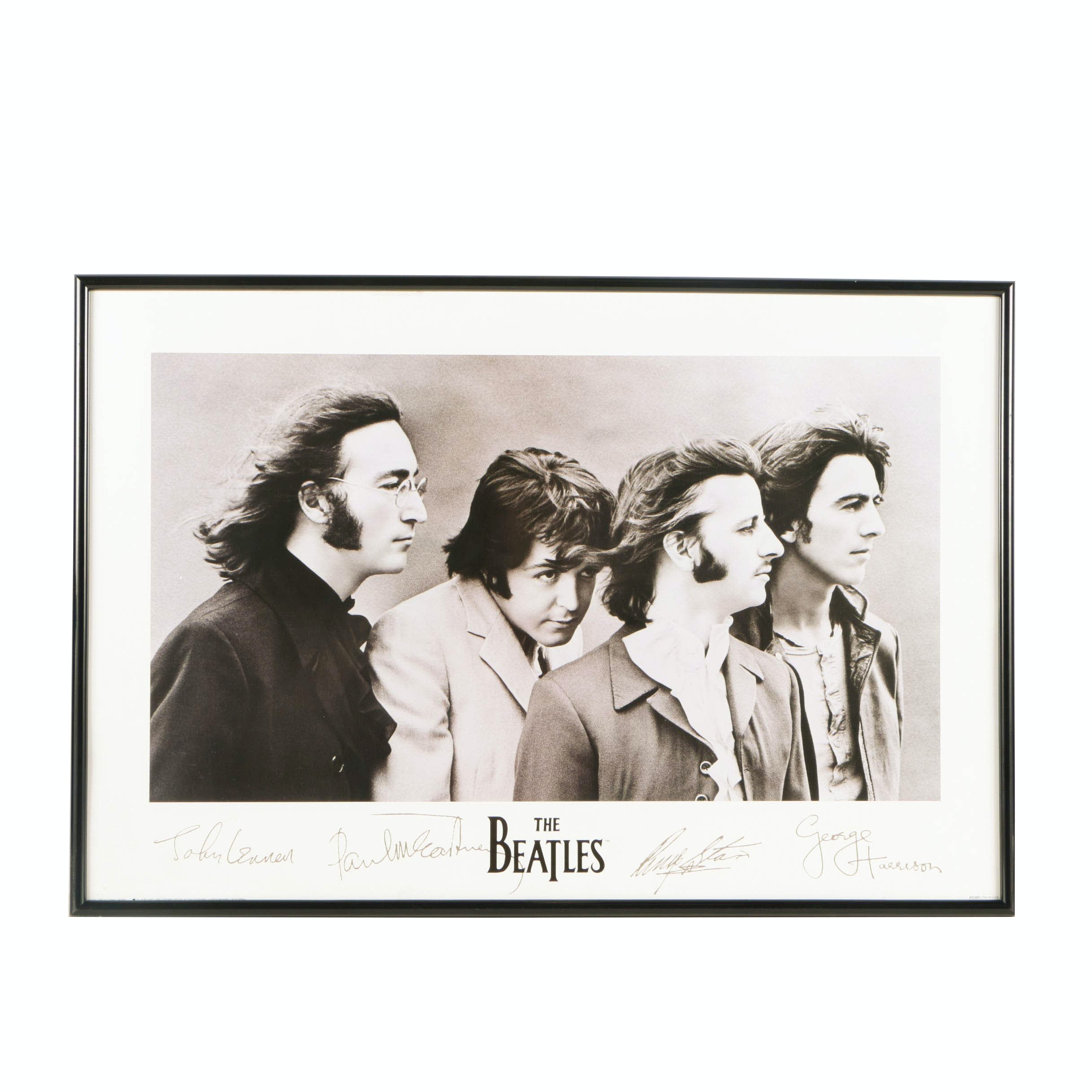 1991 Apple/Accent Editions Beatles Offset Lithograph Poster ACL 603