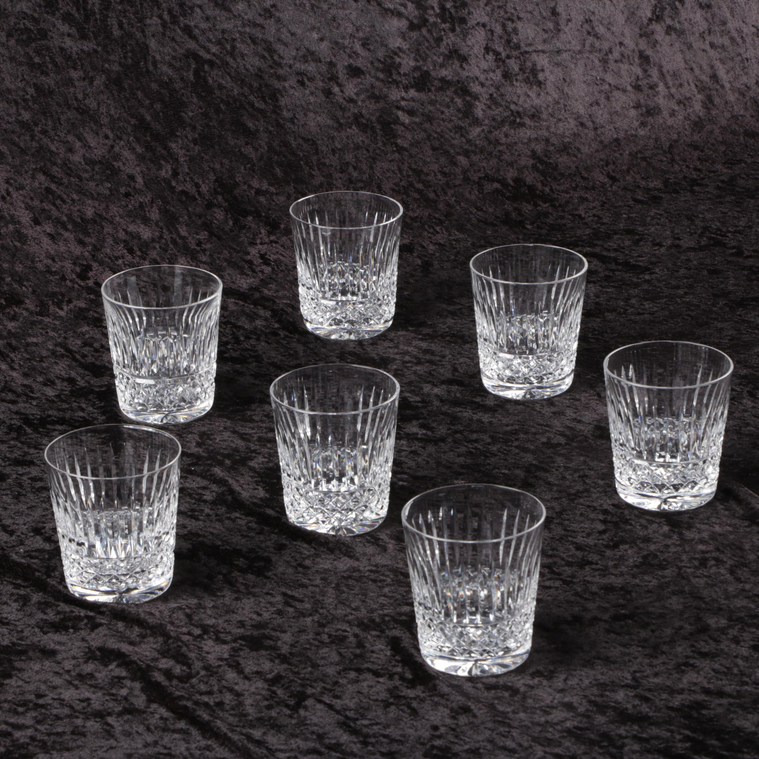 "Waterford ""Baltray"" Crystal Old Fashioned Glasses"