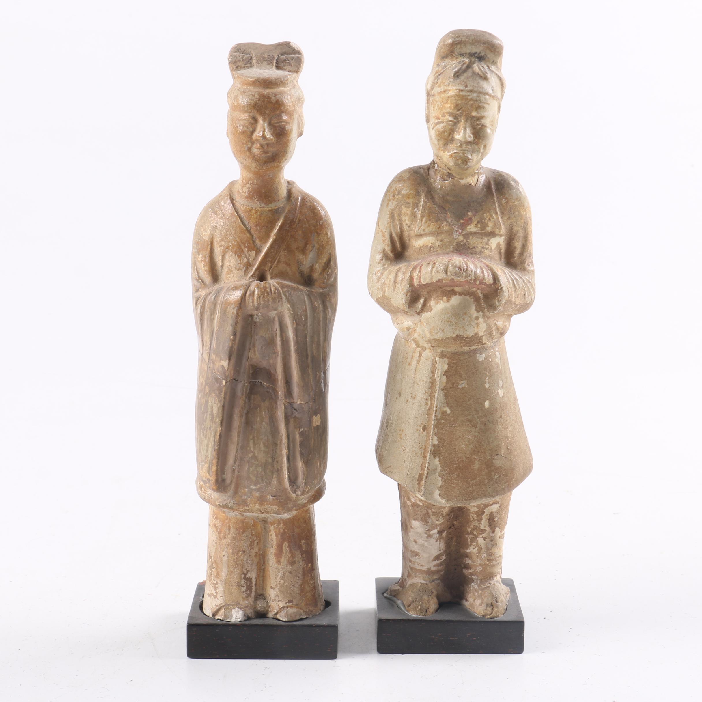 Semi-Antique Chinese Figurines