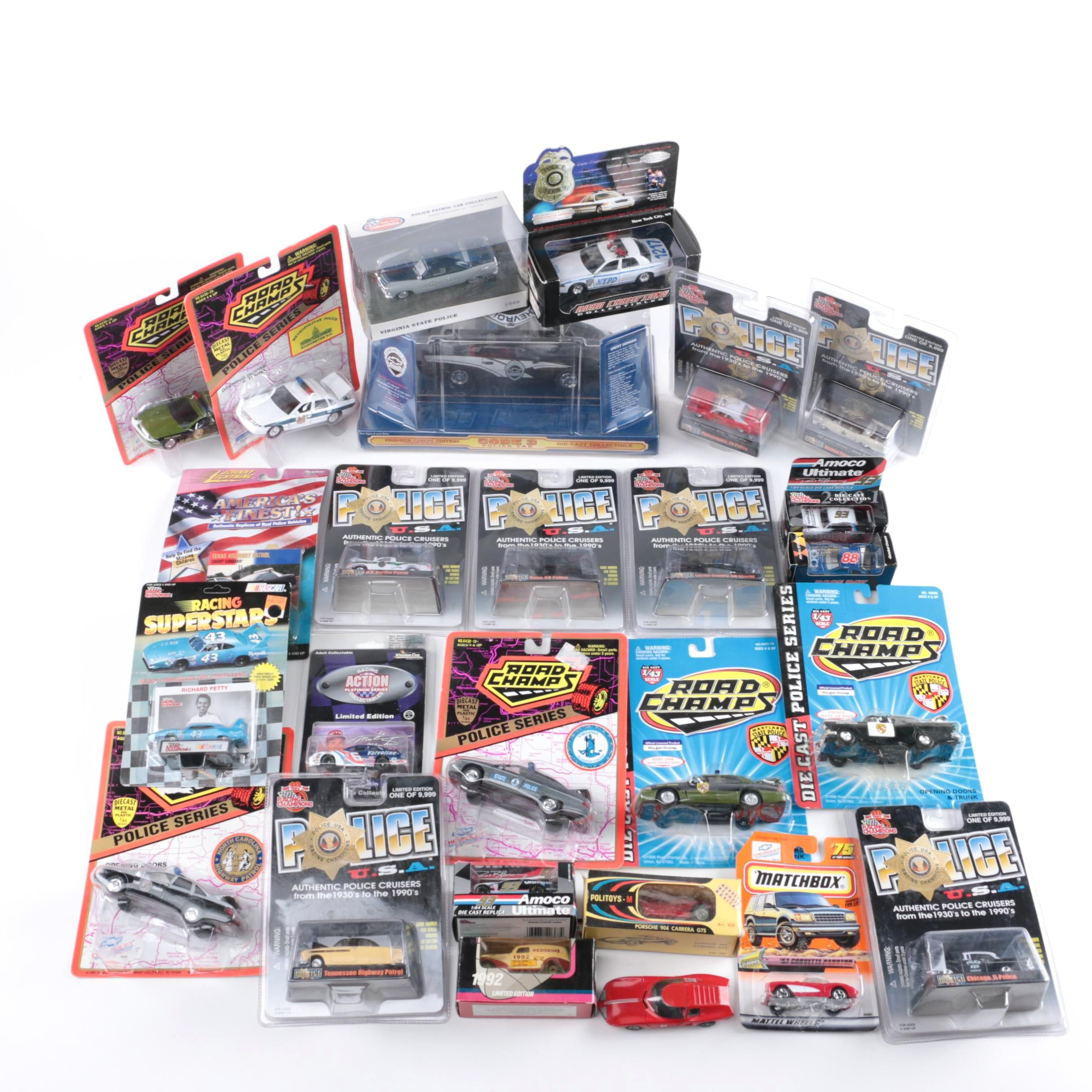Assortment of Die-Cast Cars