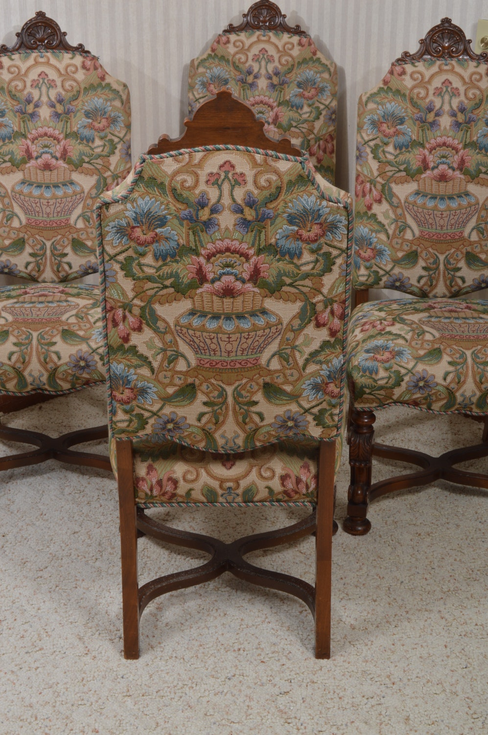 Jacobean Dining Room Set For Sale