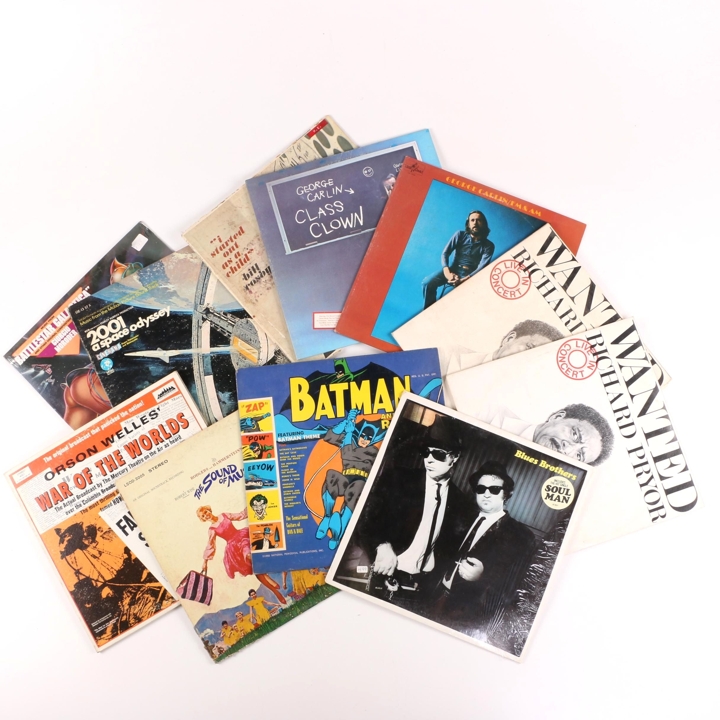 Vintage Comedy, Soundtrack and Other LPs