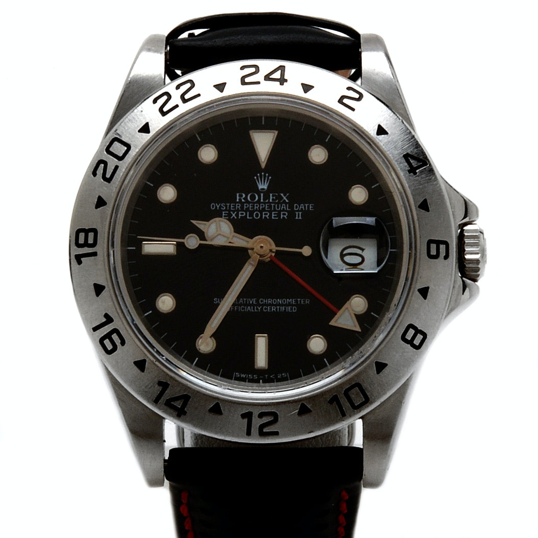 Rolex Explorer II Model 16570 Wristwatch