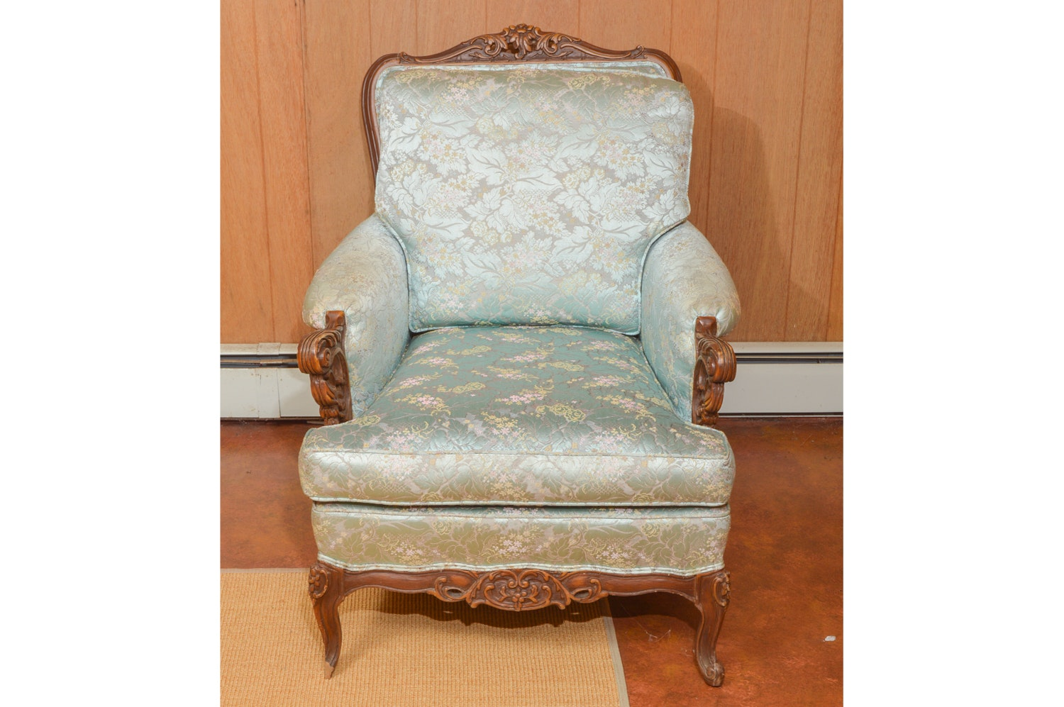 Vintage Victorian Style Armchair by Steiger's
