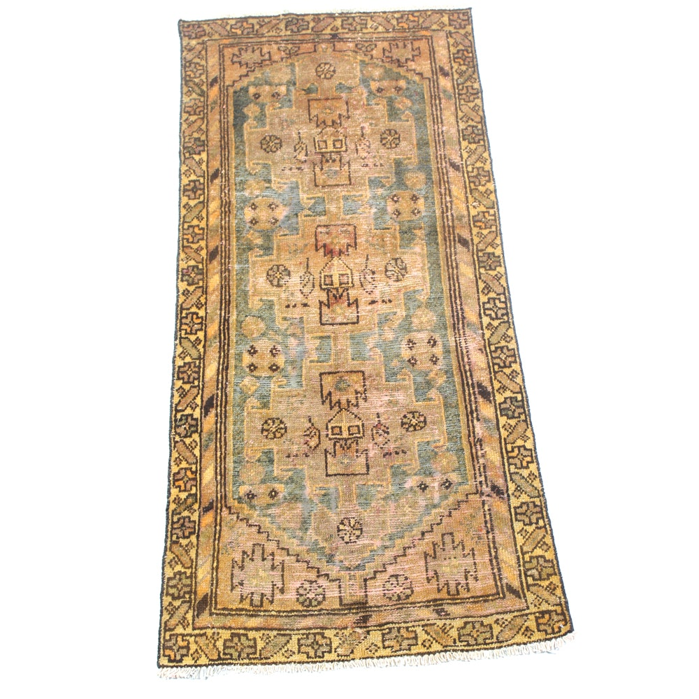 Antique Hand-Knotted Northwest Persian Area Rug