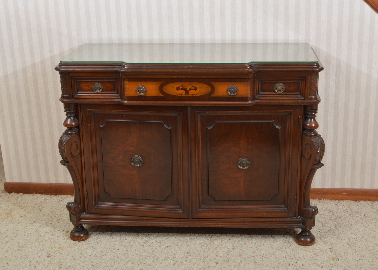 Jacobean Style Sideboard by West End Furniture of Rockford, Illinois