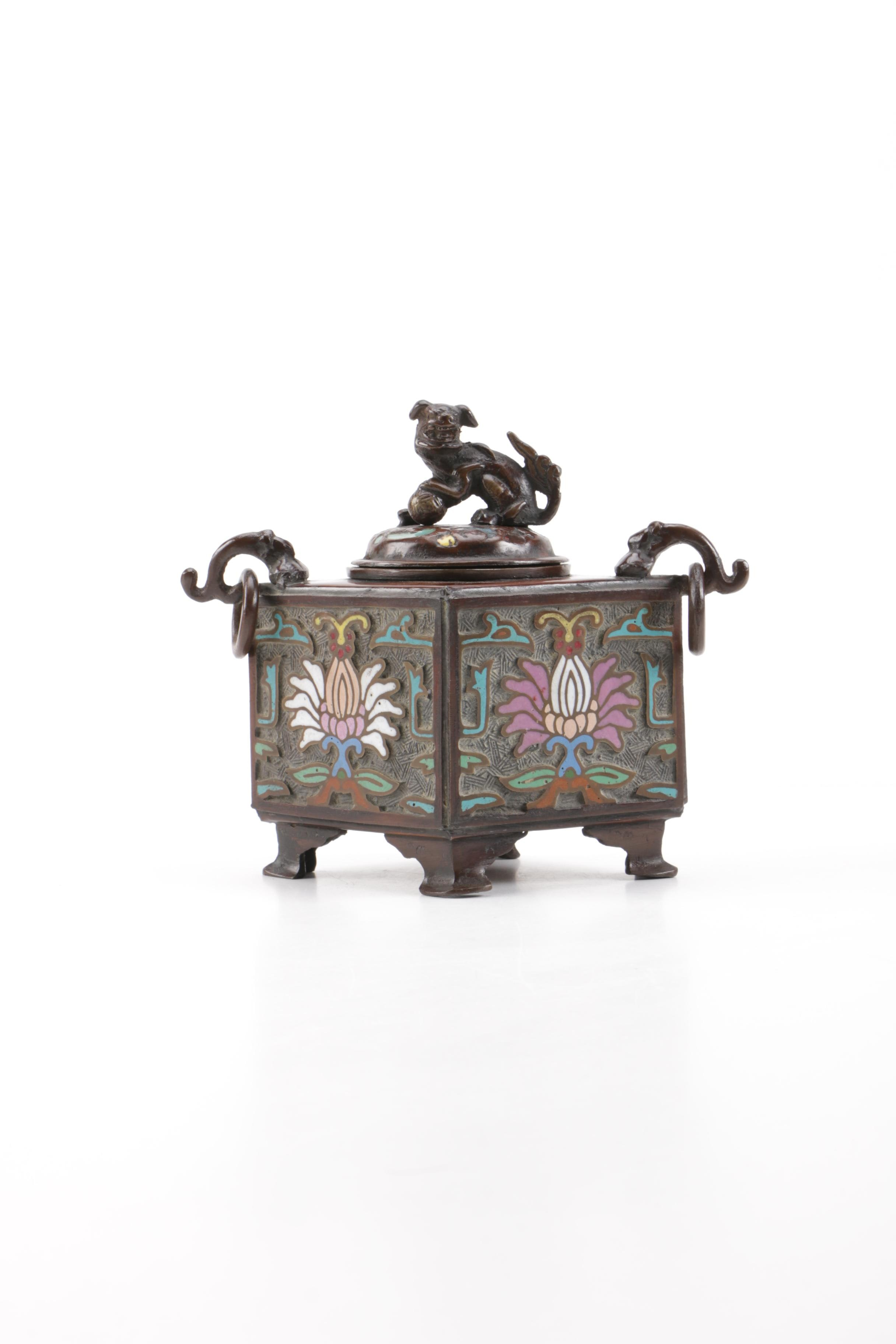 Chinese Style Censer Box