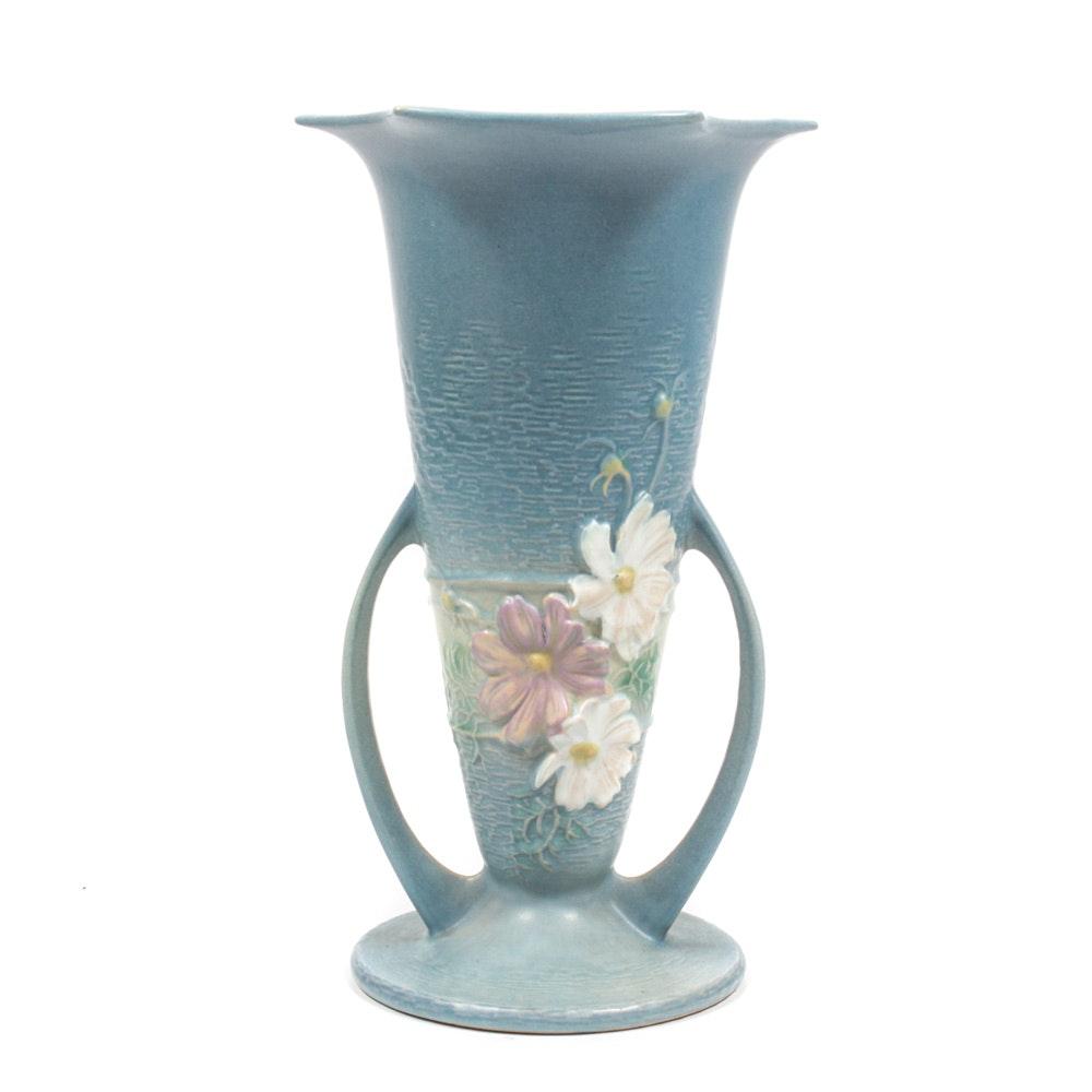 "Roseville Pottery ""Cosmos"" Vase"