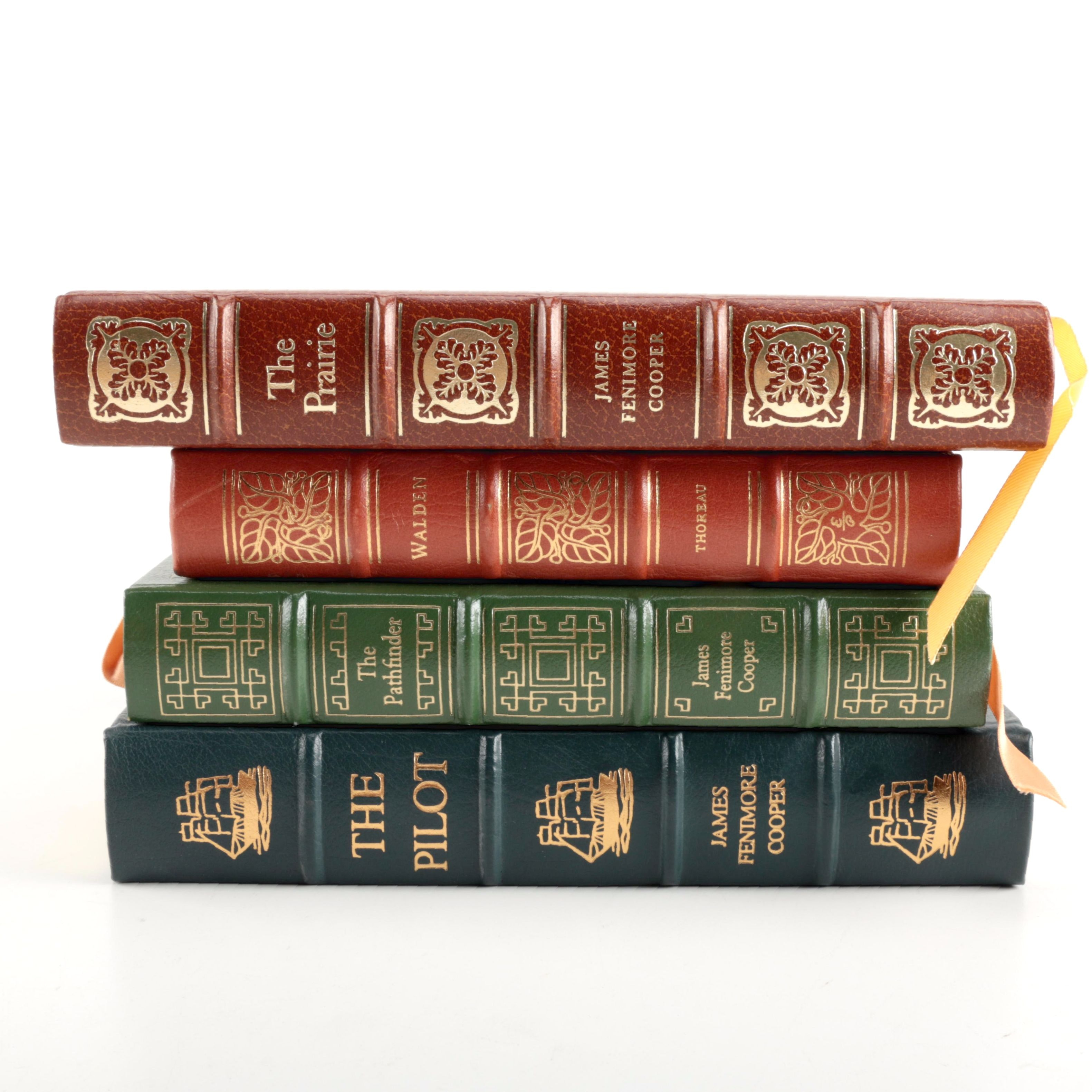 Easton Press Leather Bound Books Featuring James Fenimore Cooper