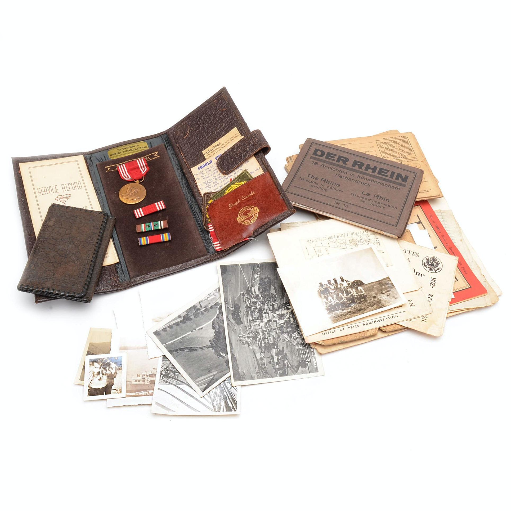 Collection of WWII Ephemera