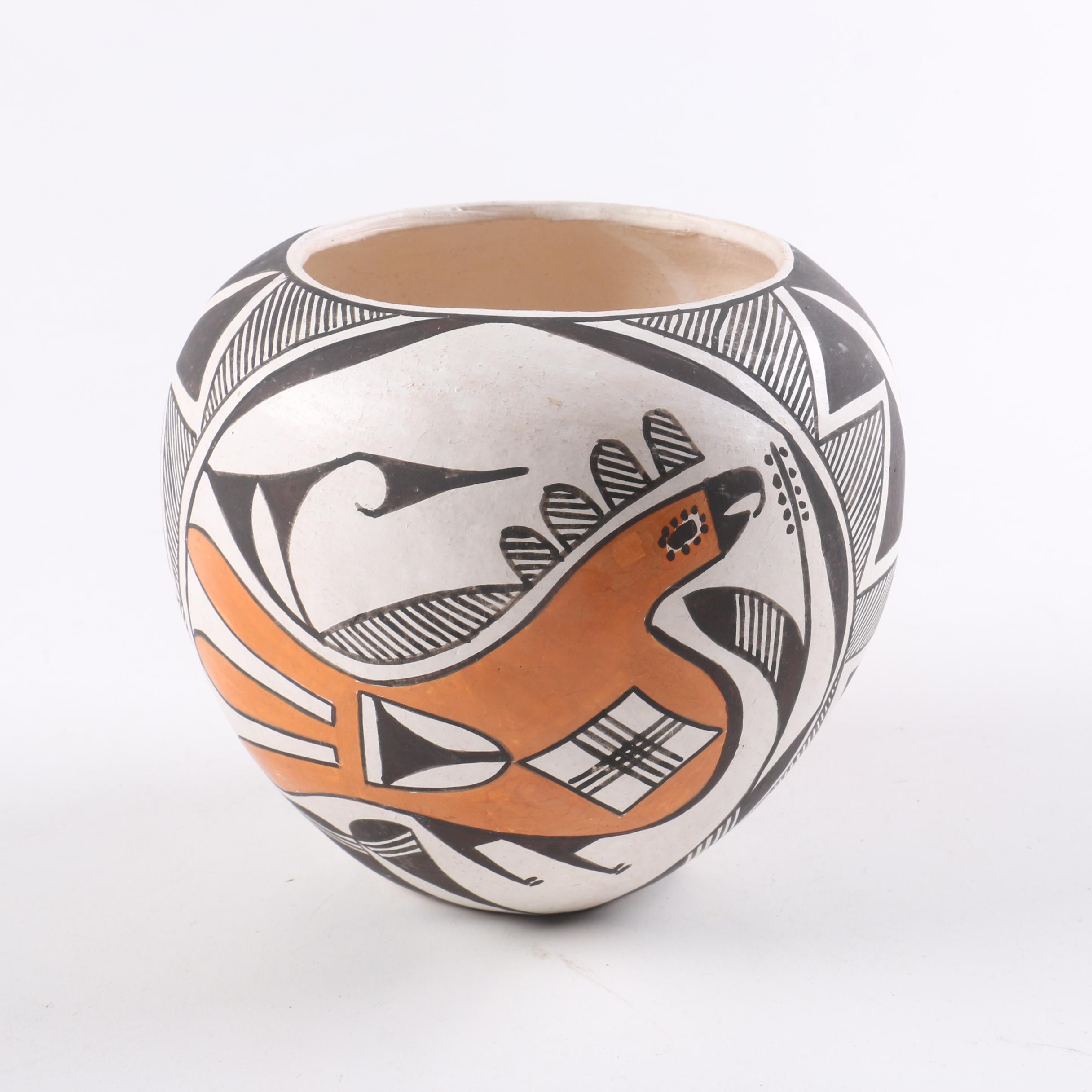 Acoma Pueblo Coil Vase