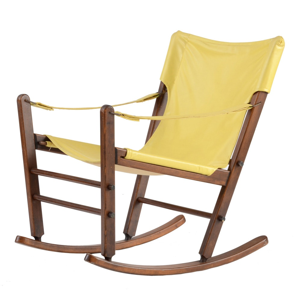 Sling-Seat Rocking Chair by Gold Medal