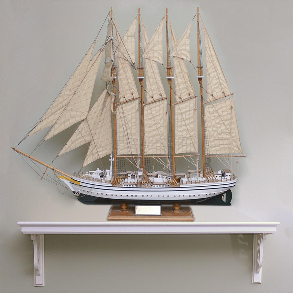 """""""Juan Sebastián Elcano"""" Model Ship"""