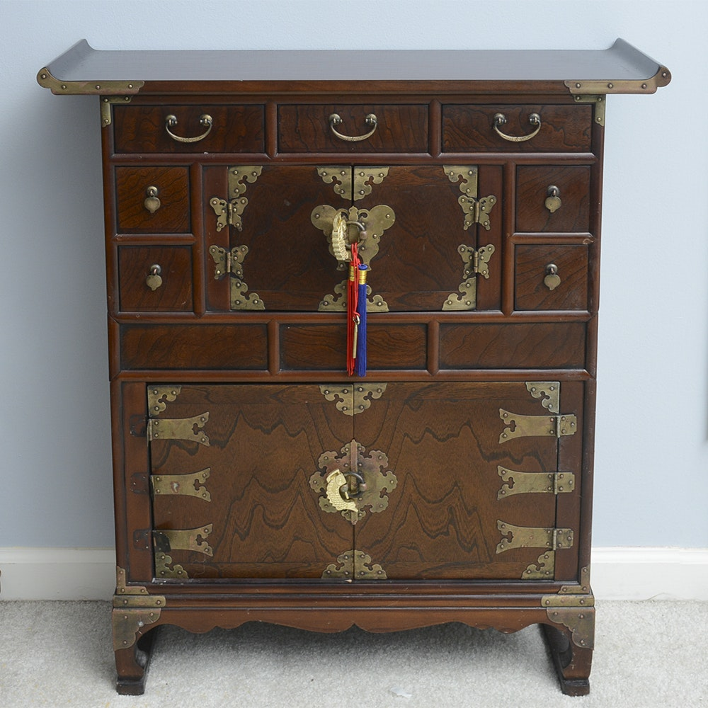 East Asian Inspired Cabinet