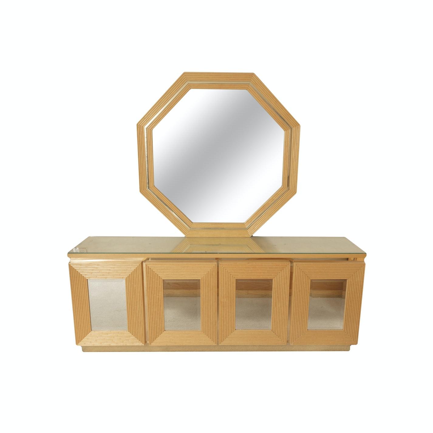 Modern Style Dresser with Mirror