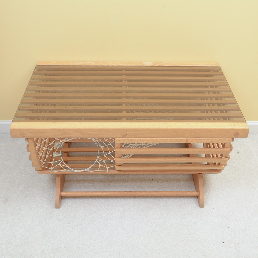 Lobster Trap Side Table