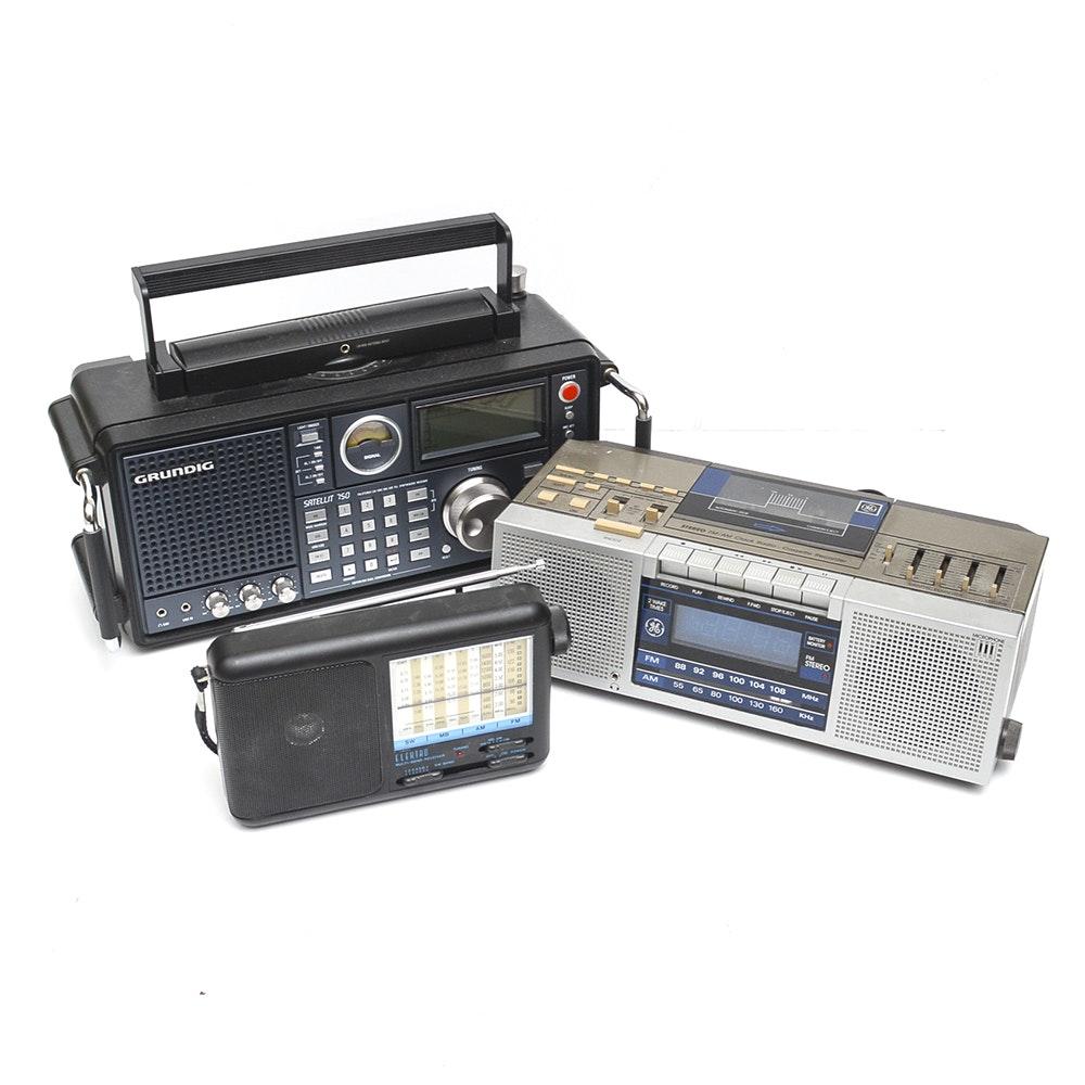 Grundig Satelit and Other Radios