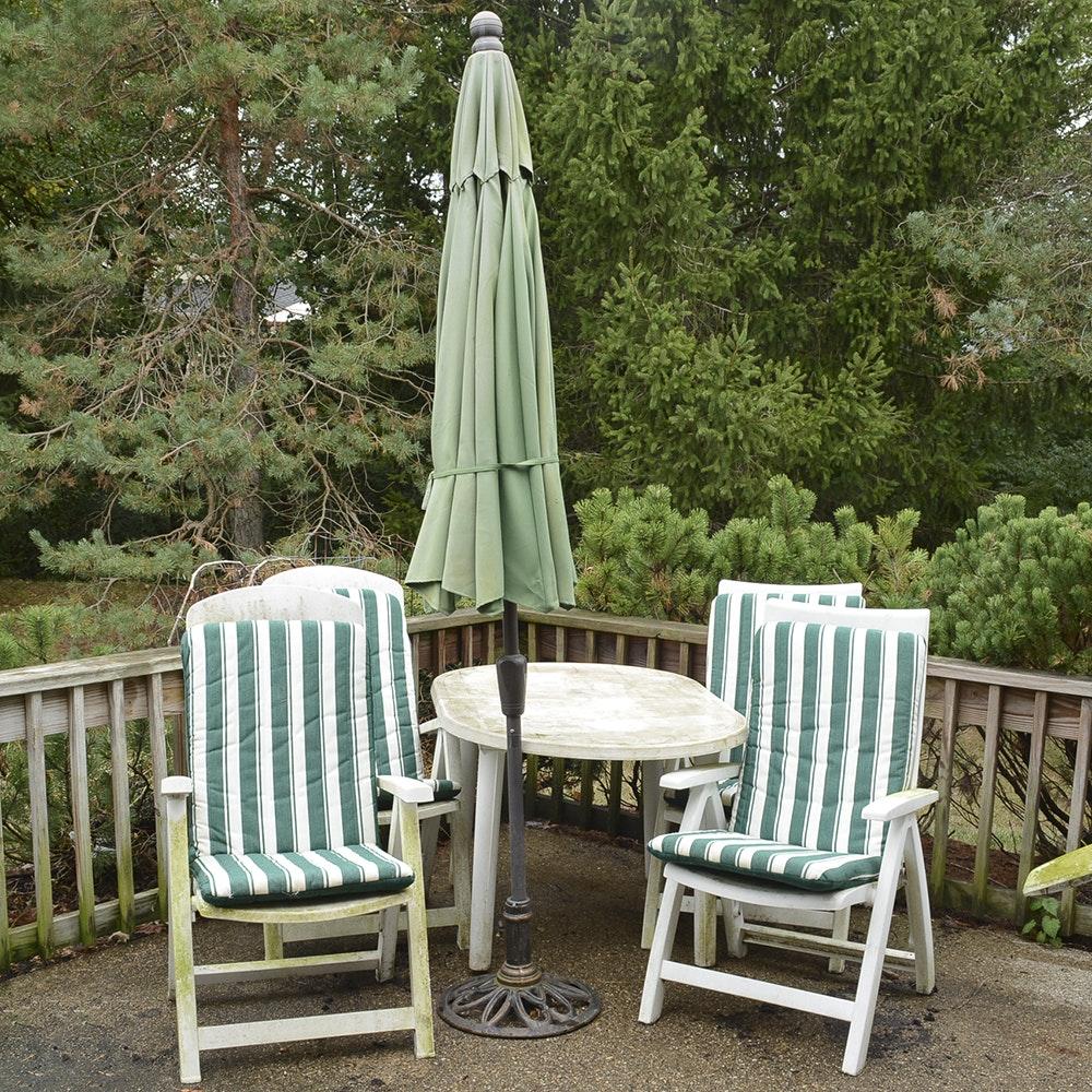 Plastic Outdoor Furniture Set