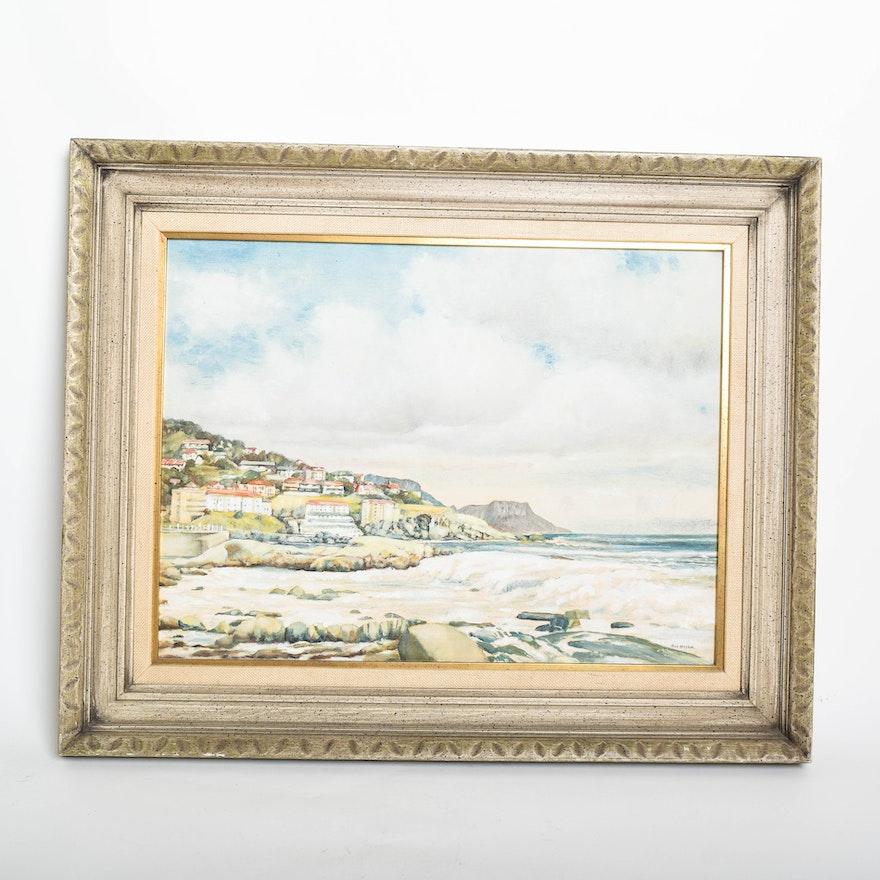 Ray Nestor Oil Painting on Canvas Board : EBTH