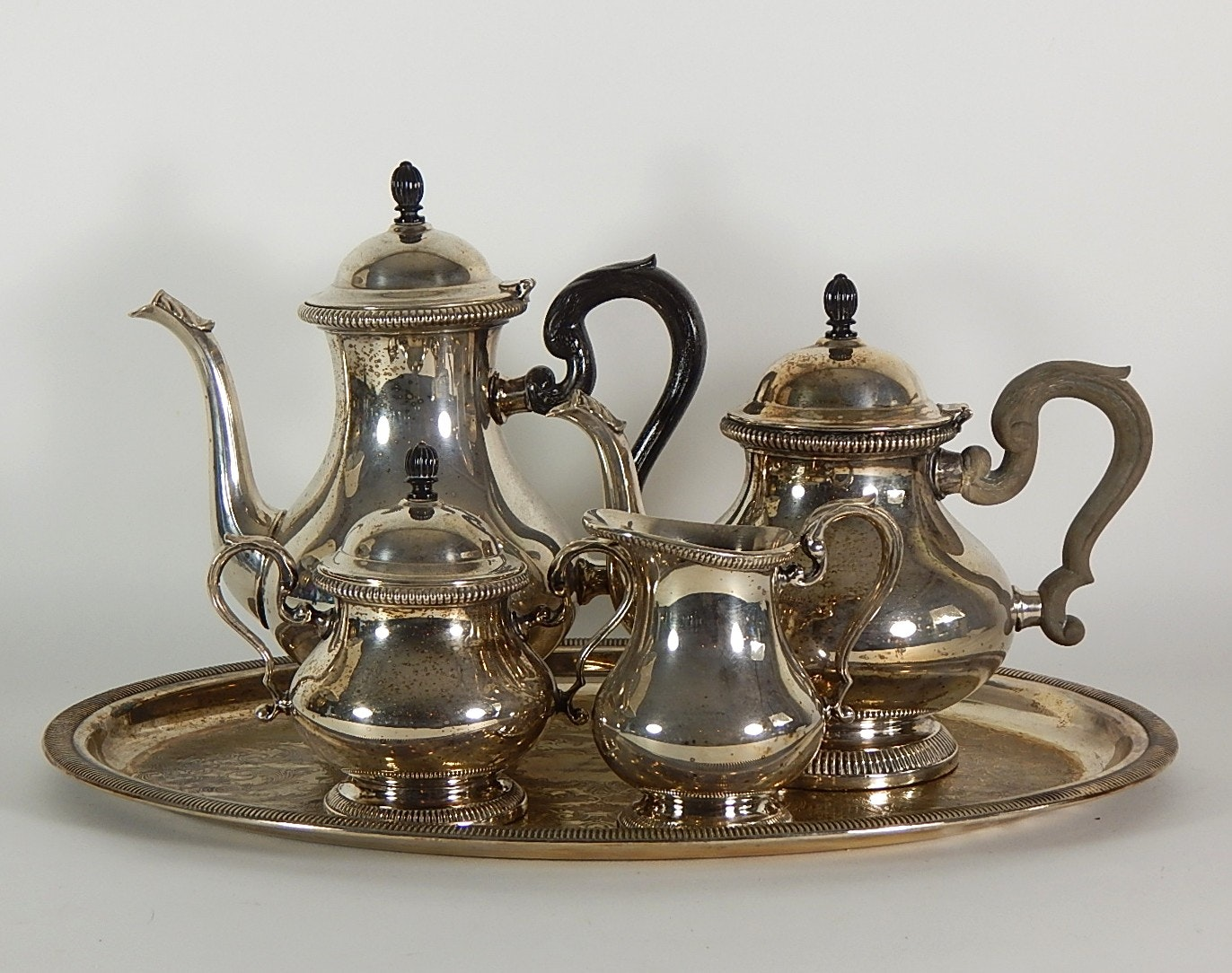 """Gorham """"Newport"""" Silver Plated Tea and Coffee Service"""