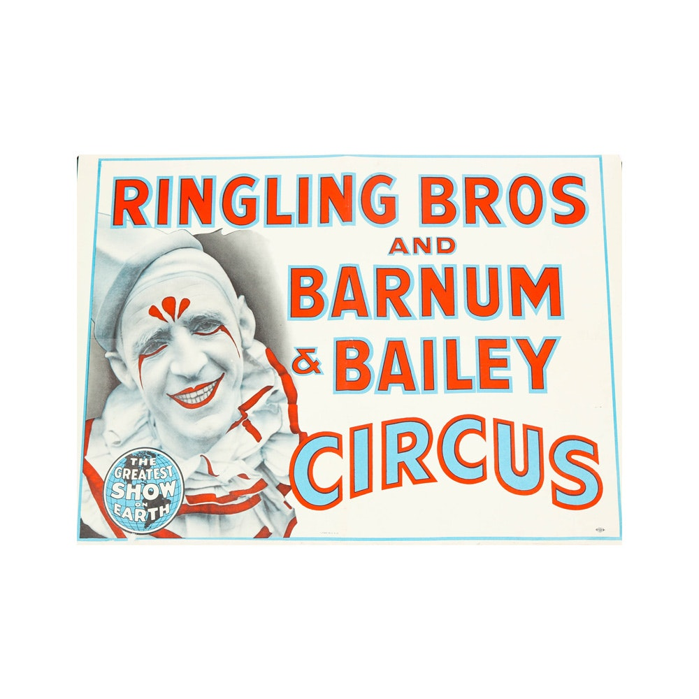 Ringling Brothers and Barnum & Bailey Circus Poster