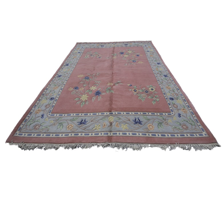 Handwoven Chinese Nichols Style Area Rug