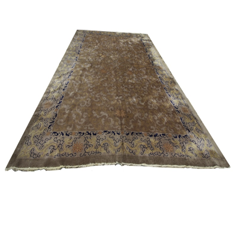 Handwoven Chinese Style Area Rug