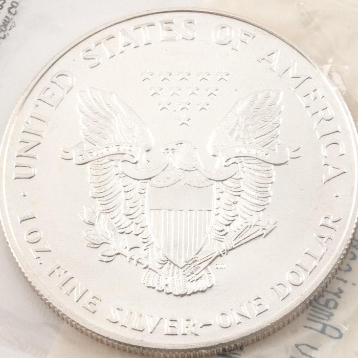 1994 Silver Eagle Dollar