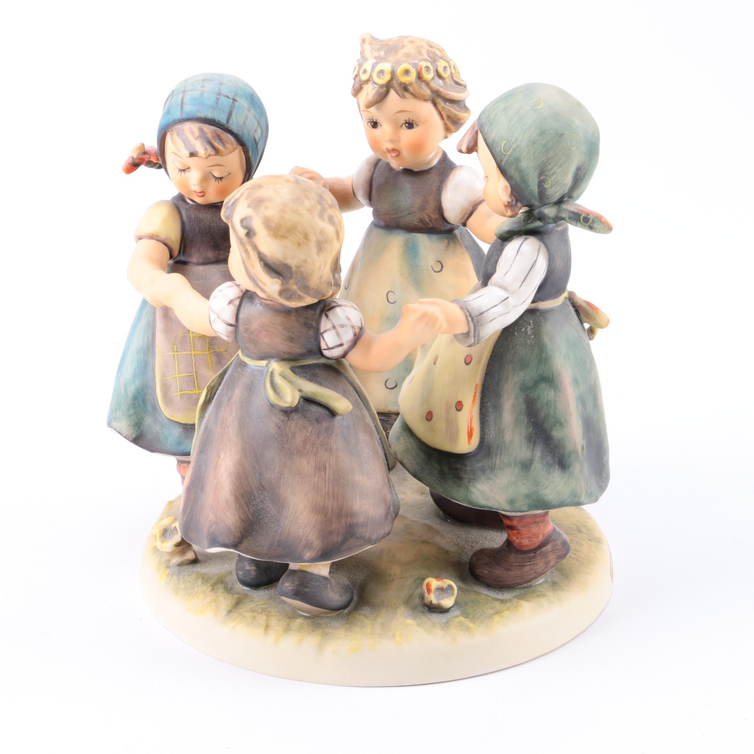"""Hummel """"Ring Around the Rosie"""" Vintage Figurine"""