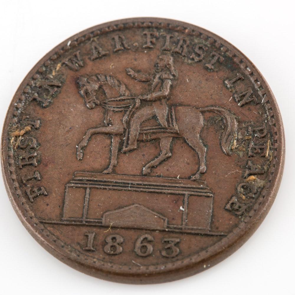 1863 Washington Token
