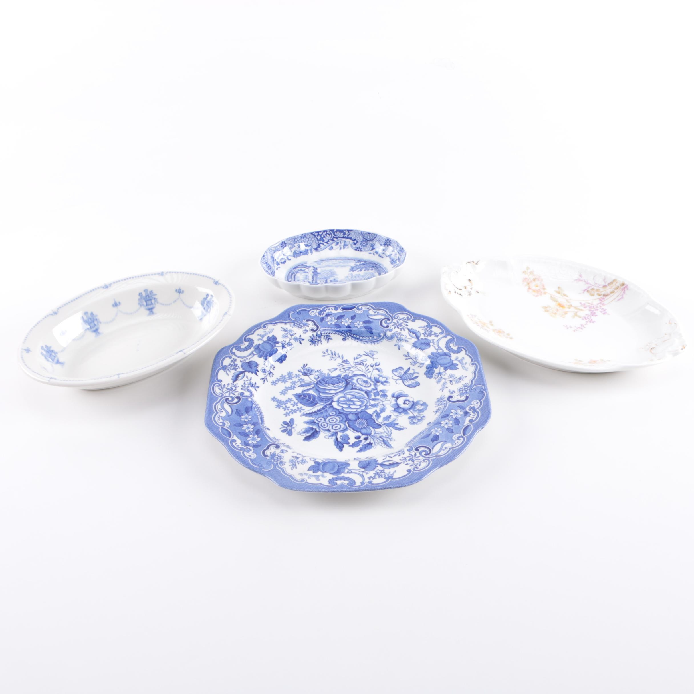 China Featuring Spode and Limoges