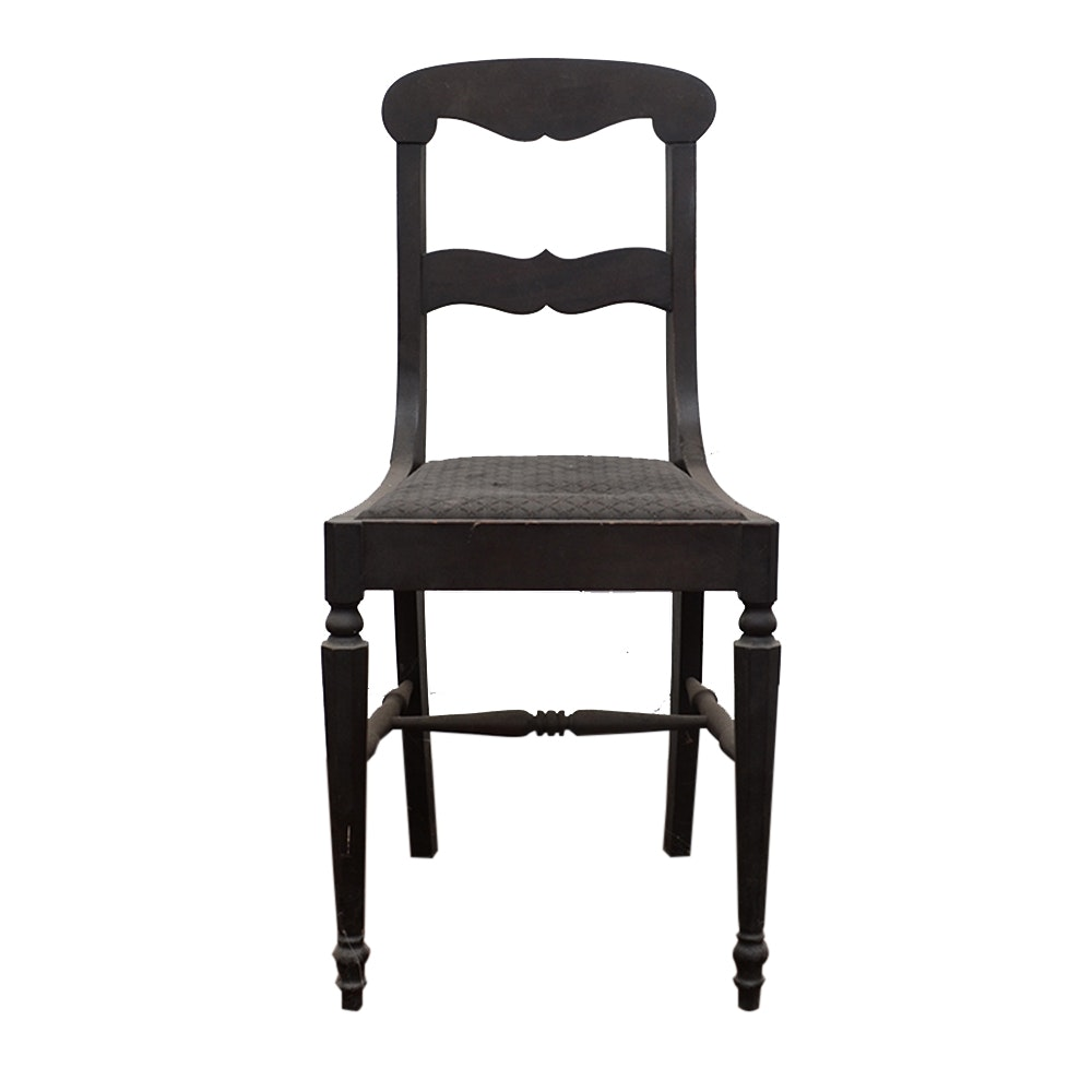 Early 20th Century Empire Style Side Chair