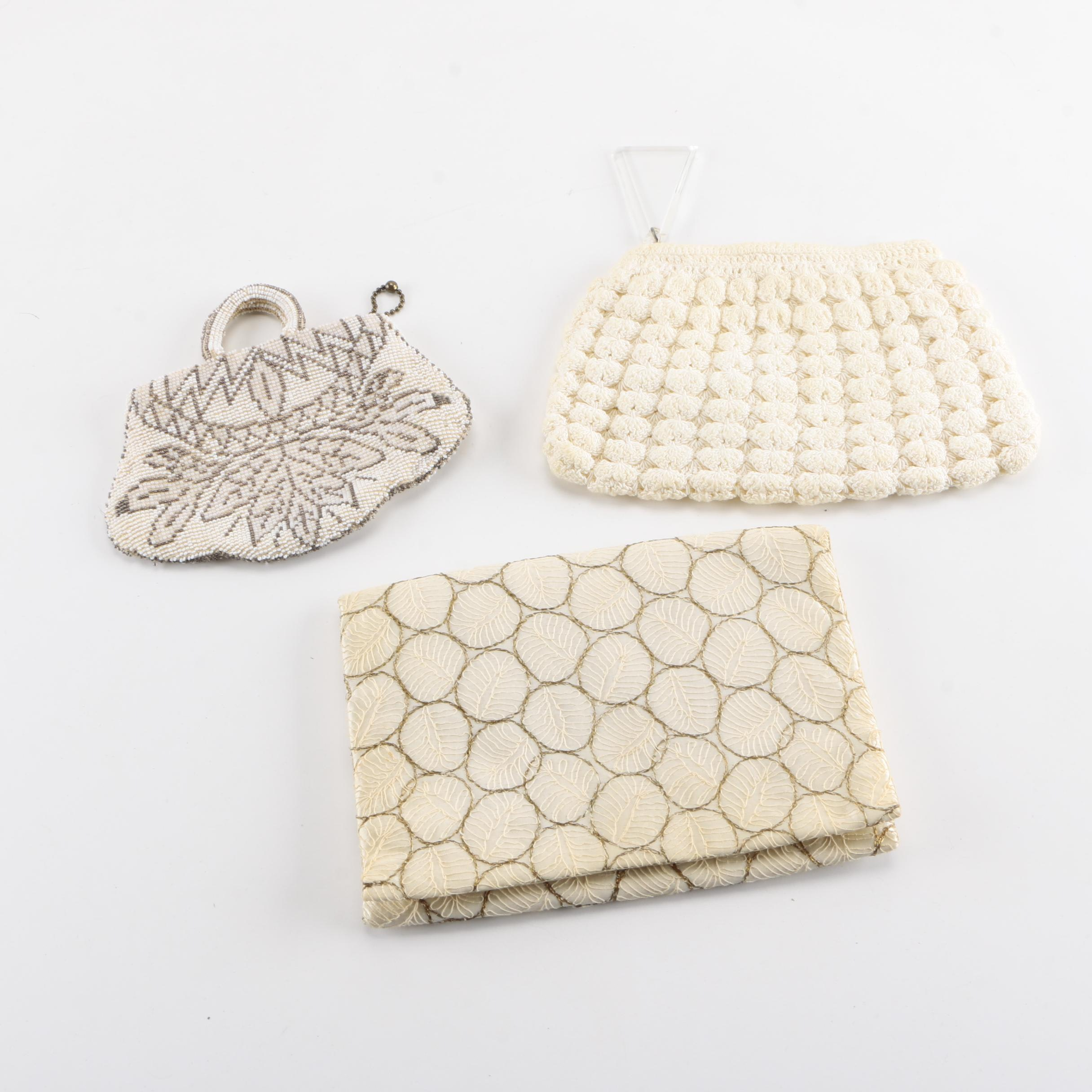 Vintage Clutches with Beading and Embroidery