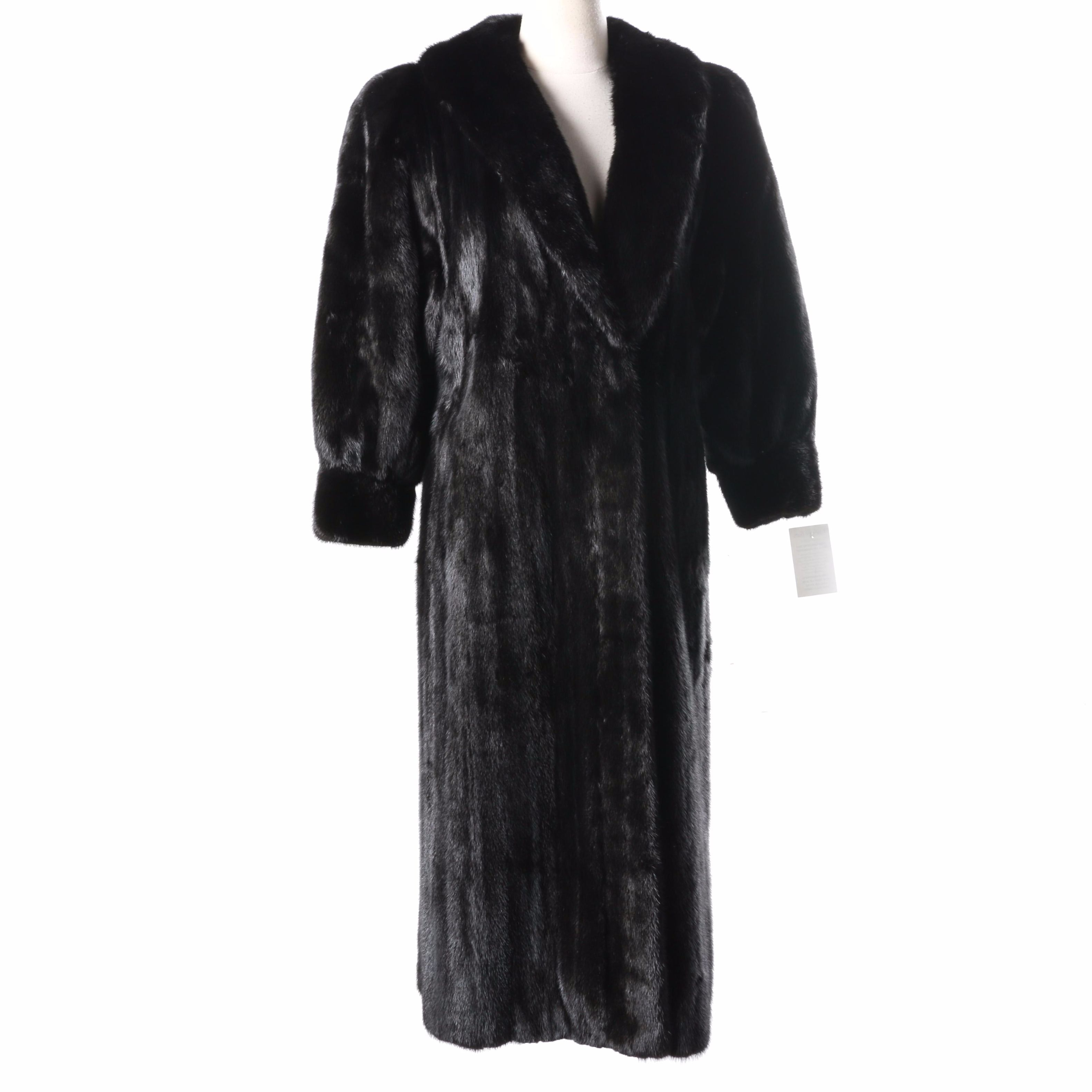 Mink Fur Coat by Klyman Furs