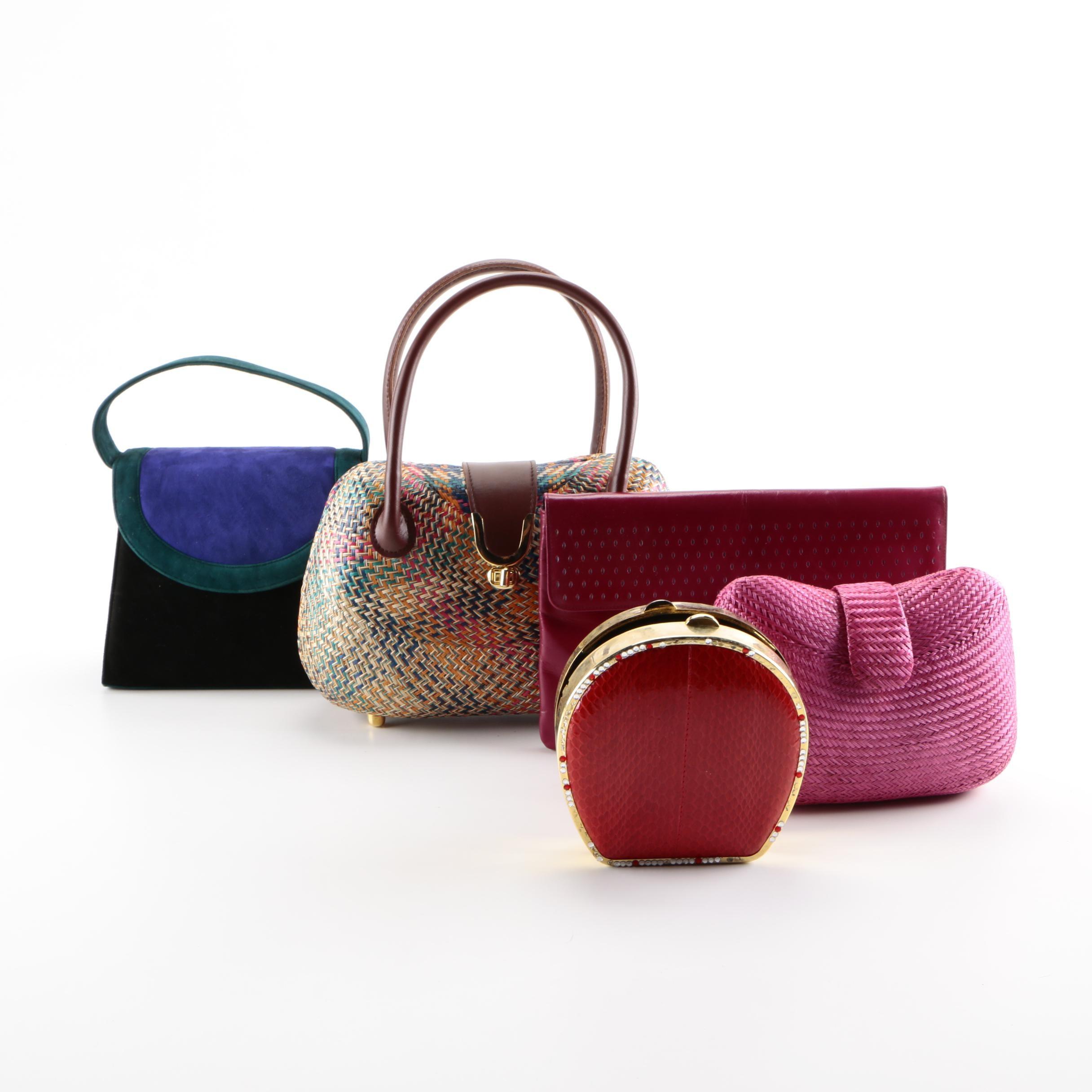 Handbags Including Charles Jourdan