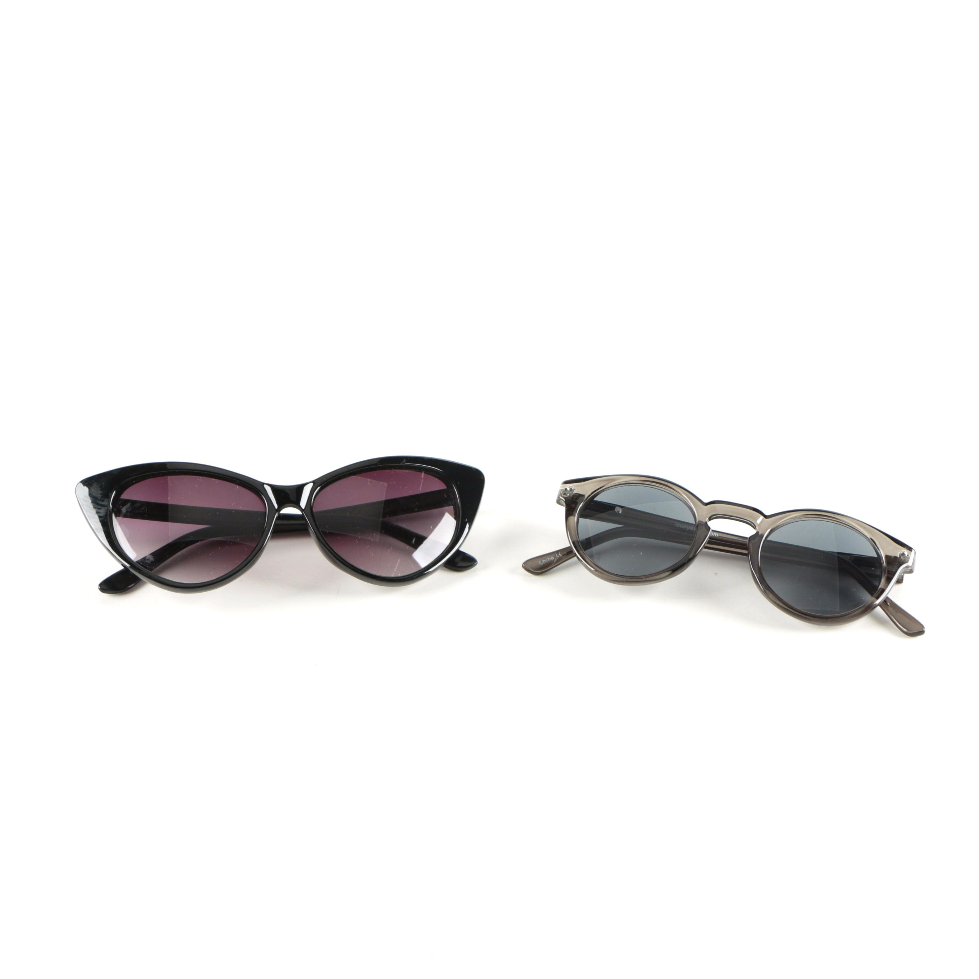 Cat Eye and Perscription Sunglasses