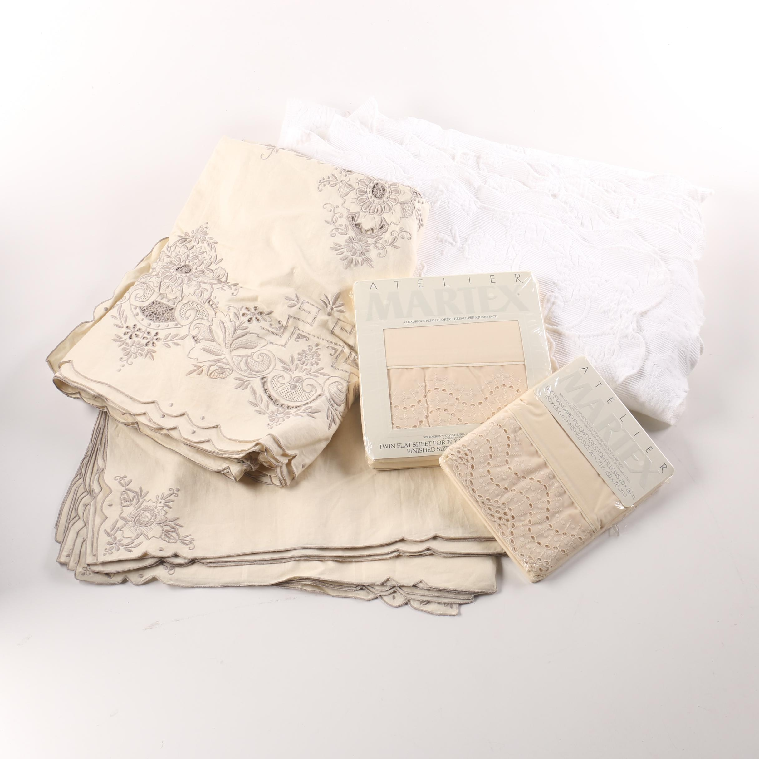 Generous Collection of Table and Bed Linens